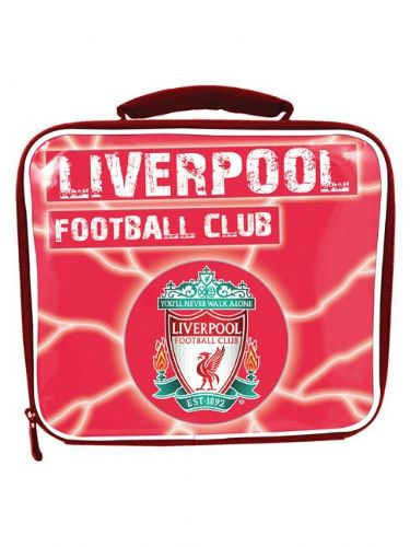 LIVERPOOL FOOTBALL CLUB INSULATED SCHOOL LUNCH BAG BOX